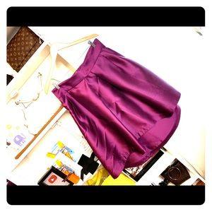 Beautiful deep purple 50's style skirt